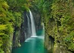 Waterfall at Takachiho Gorge