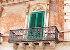 Balcony in Ragusa, Sicily