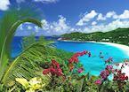 A Mahe beach