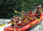 White water rafting in the Adirondack Mountains