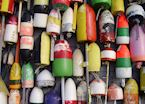 Buoys in Provincetown, Cape Cod