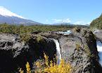 Petrohue Waterfalls, Chile