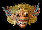 Traditional mask, Ubud