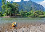 Kayaking, Vang Vieng, Laos