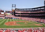 Busch Stadium, home of the St. Louis Cardinals, St Louis