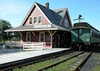 Louisbourg Railway Station, Canada