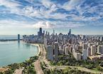 Chicago Skyline facing South