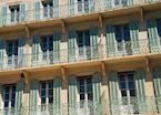 Building façade in Avignon, Provence