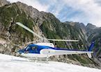 Helicopter on Franz Josef Glacier