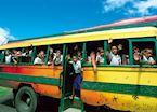 Local bus on Upolu