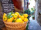 Lemon basket, Taormina