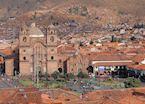 Central square In Cuzco, Plaza de Armas, Peru