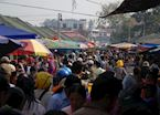 The early morning market in Kengtung