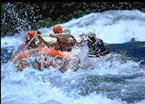 White water rafting on the Nile, Jinja
