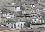 Tibetan houses, Gyantse