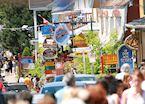 A Busy Street Scene in Baie St Paul