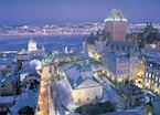 Québec City in the winter