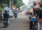 A typical street in Medan