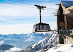 Cable car to the Aiguille du Midi, Chamonix