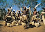 Zulu dancers, South Africa