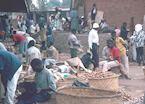 Market in Lilongwe, Malawi