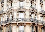 Building façade, Paris