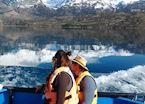 Navigating Lago General Carrera, Chile
