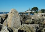 The Maine coast at Kennebunkport