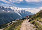 Hiking trail, Chamonix