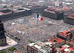 The Zocalo at the Heart of Mexico City