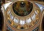 Ceiling of St Isaacs Cathedral, St Petersburg