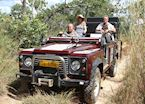 Game drive in the Nkhotakota Wildlife Reserve