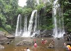 Waterfall in the Kulen National Park