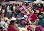 Chinchero market, Sacred Valley of the Incas