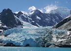 Glaciers in South Georgia