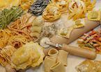 Traditional fresh pasta, Bologna