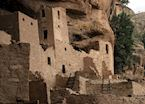 Ancestral Puebloan ruins at Mesa Verde National Park