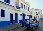 Driver on the streets of Asilah