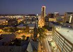 Birmingham at twilight