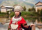 Miao woman, Guizhou