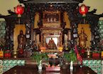 Chinese temple in Malang, Indonesia