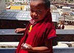 Young monk at the Songzanlin Monastery