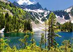 Snow Lake in Mt Rainier NP