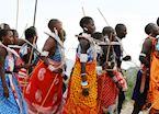 Samburu dancing