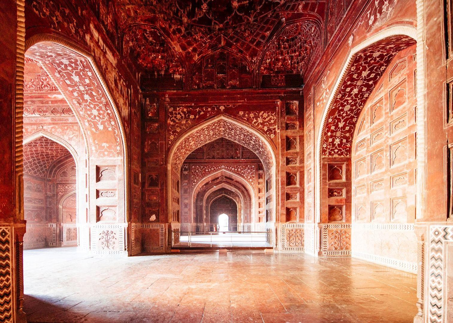 Classic rajasthan audley travel for Interior taj mahal