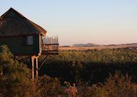 View from The Stiltz, Swakopmund