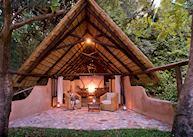 Standard chalet, Nkwali Safari Camp, South Luangwa National Park
