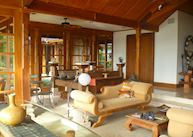 Lounge at Ho'Oilo House, Maui