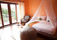 Sunset room at the iRoha Garden