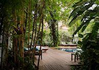 Gardens at Villa Langka